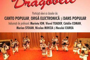 """Cânt şi joc de Dragobete la Școala Populară de Arte """"Vespasian Lungu"""""""