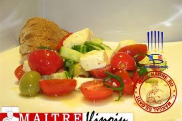 Salata greceasca, o axioma a salatelor