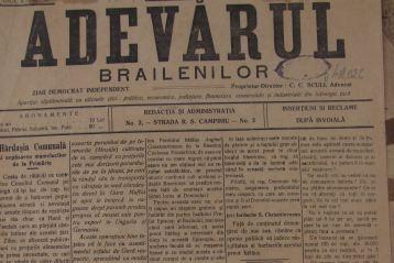 Adevărul brăilenilor, 27 aprilie 1915