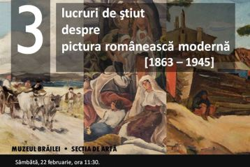 Incursiuni in arta moderna romaneasca la Muzeul Brailei