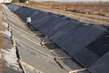 Primul canal din Amenajarea Terasa Viziru a fost finalizat