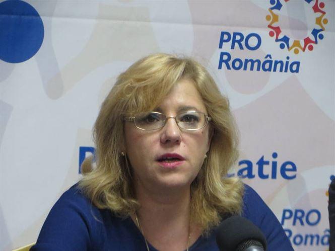 Corina Crețu - Pro România