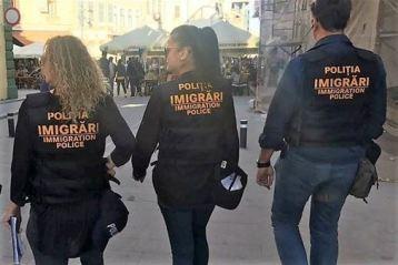 Polițiștii de imigrări au depistat în luna mai 293 de cetățeni străini în situații ilegale