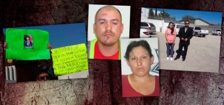 De izquierda a derecha las víctimas de tortura: Fernando Sánchez, Luis Manuel Barraza, Cristel Piña y Natalia Hernández. Fotos: Especial