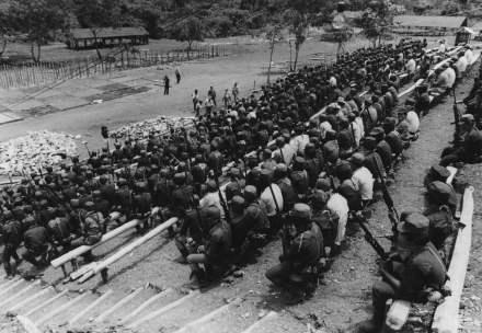 Elementos del EZLN en Chiapas. Foto: Archivo Procesofoto