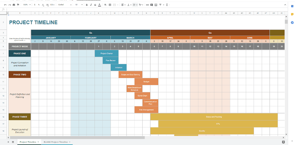 If you usually manage your data in excel, you can also import an existing.xls schedule into the web tool and turn it into a timeline. 50 Google Docs Templates For Business Success With 60 Process Checklists Process Street Checklist Workflow And Sop Software