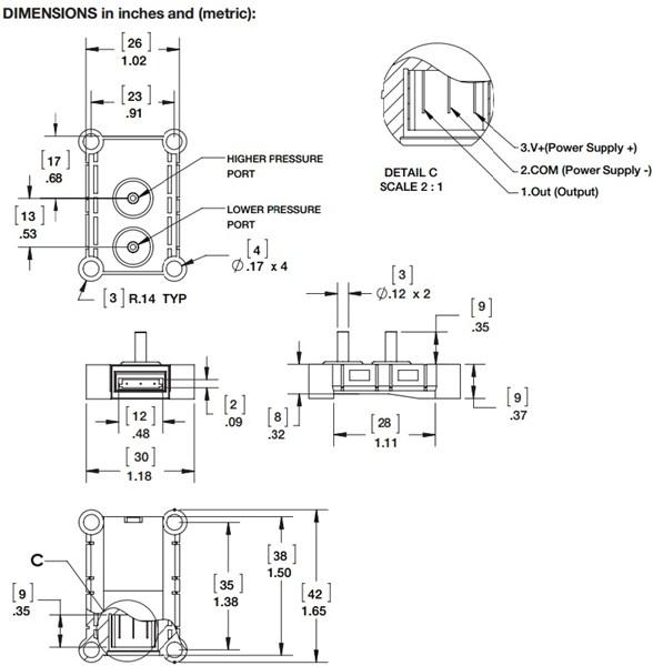 Ashcroft AXLdp Low Differential Pressure Transducer, board