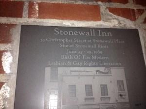 Stonewall Inn historical marker (1)