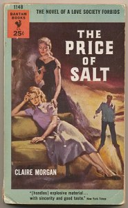 The cover of the 1952 romance novel The Price of Salt. The film Carol was adapted from this book.