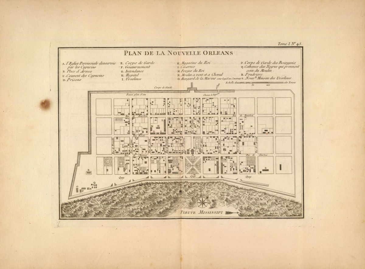 Streets and Archives: Slavery and the Spaces of Early New Orleans