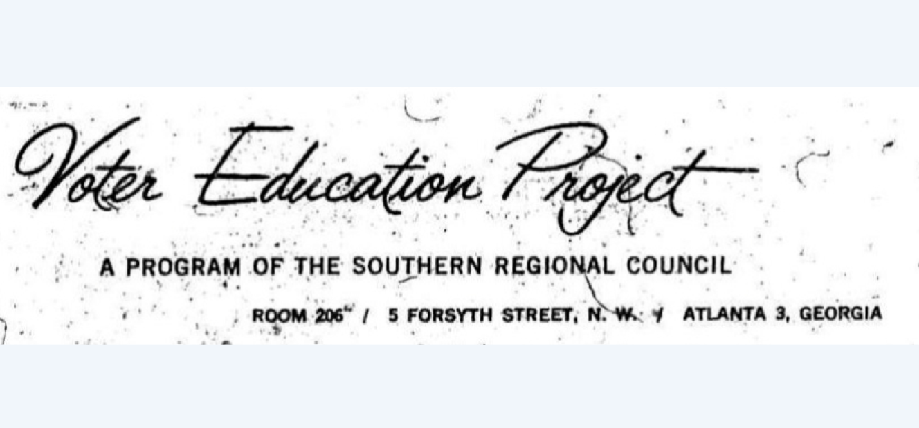 Education as Activism: The Voter Education Project in the
