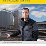 Instrumentação de nível e pressão para tratamento de águas residuais