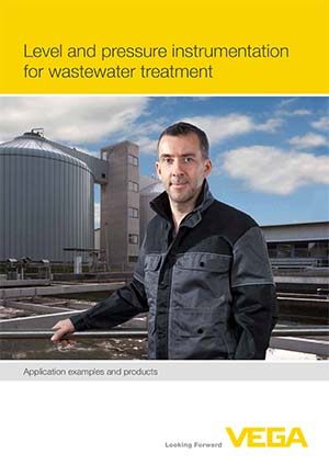 Level and pressure instrumentation for wastewater treatment