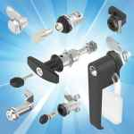 IP65 quarter-turn locks