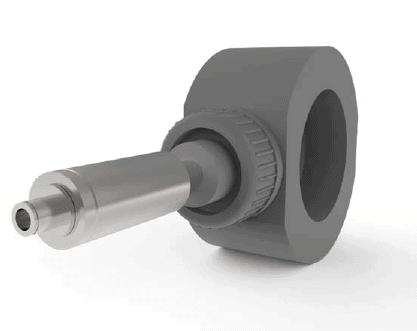 Sodium-Hypochlorite Flowmeter Pelton Wheel