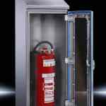 rittal-hd fire extinguisher housing