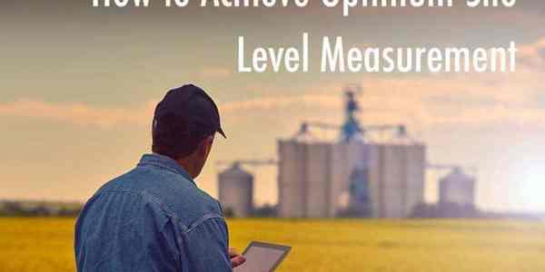 Cómo lograr la medición del nivel de silo óptimo