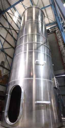 silo da planta de fabricação de bevex