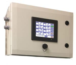 multi channel water analyser controller