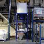 screening machine big bag recycled glass