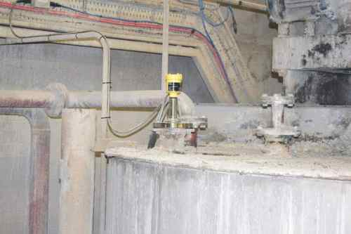 level control milk lime mixing vessel