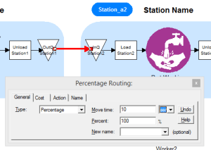 Change times to reflect moves between stations.