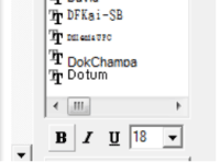 Changing pyramid igrid fonts