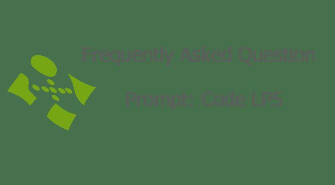 Prompt: Code LP5