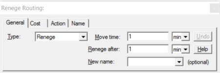 Renege routing in process improvement