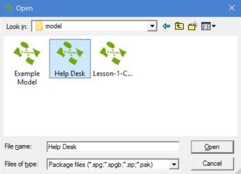 ProcessModel open window chapter 1