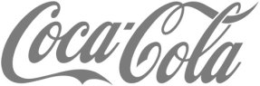 Client CocaCola Grayscale image