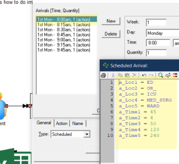 Review imported data in Import and Overall Flow