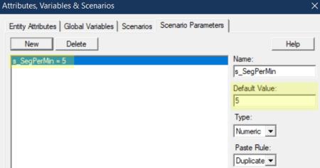 set value for s_SegPerMin