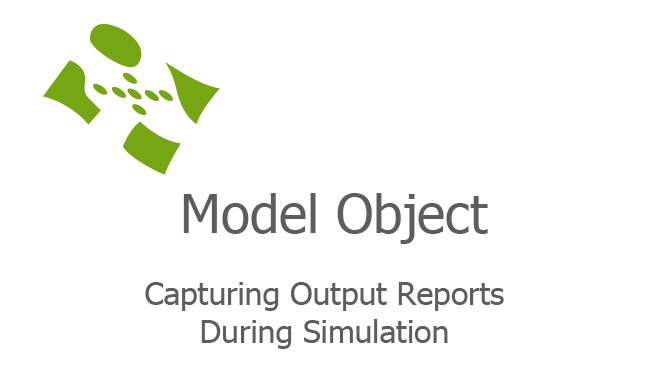 Capturing Output Reports During Simulation fi
