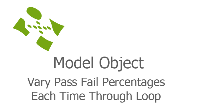 Vary Pass Fail Percentages Each Time Through Loop