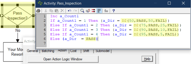 update distributions in verify pass fail