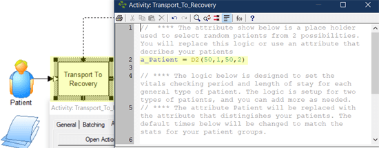 update patitent logic in Transport To Recovery