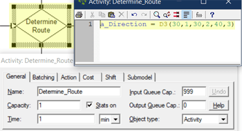 Simple Conditional Routes action logic