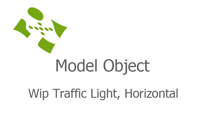 Wip Traffic Light, Horizontal