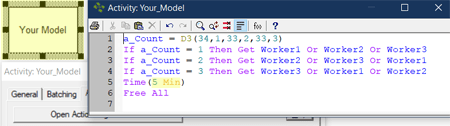change time statment in Randomize Resource Get Order