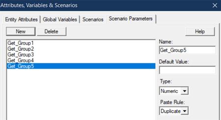 declaring scenario parameter in Resource Groups