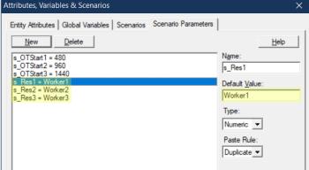 update scenario 2 in Overtime Tracker