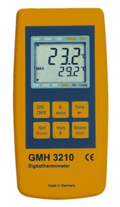 GMH-3210 hand held thermometer