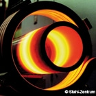 Induction hardening of steel pipe