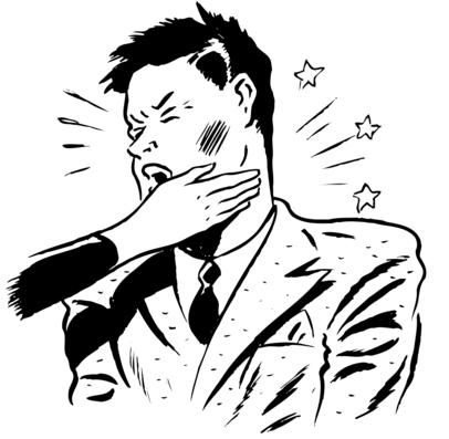 Cartoon face slap cheater spouse