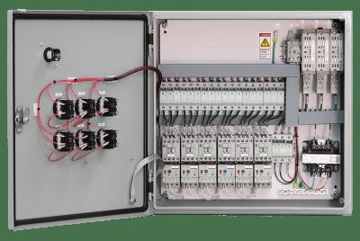 60 Amp motor control panel