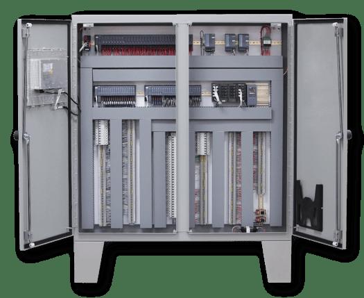 Two-door Siemens PLC Control Panel