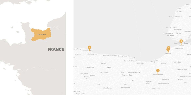Découvrir le Calvados : voyage en Normandie