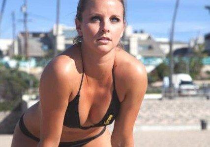 Volejbalistka Jess Gysin