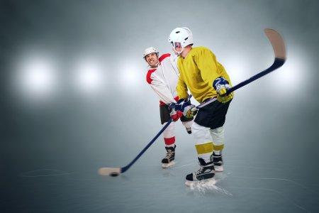 Hokej ilustrační